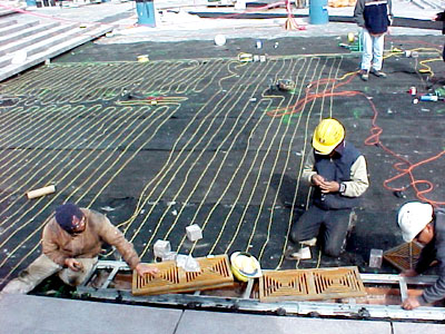 project management radiant heat