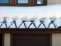 WarmQuest's GutterMelt system provides heat tracing and deicing along gutters and downspouts
